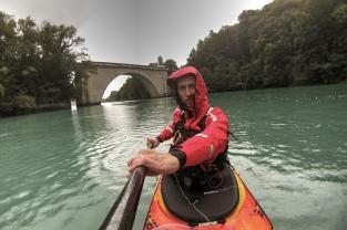 Pont Carnot (en amont du Fort l'Ecluse)