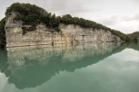 Le Rhône en aval d'Arlod