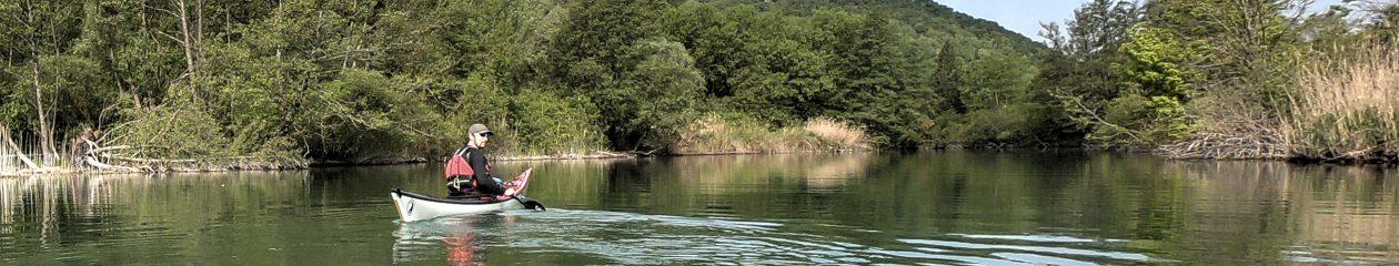 Kayak Entre Rhône & Lacs