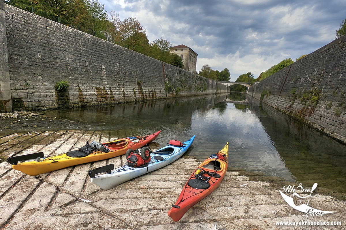 Destination Lyon Kayak: Etape 2