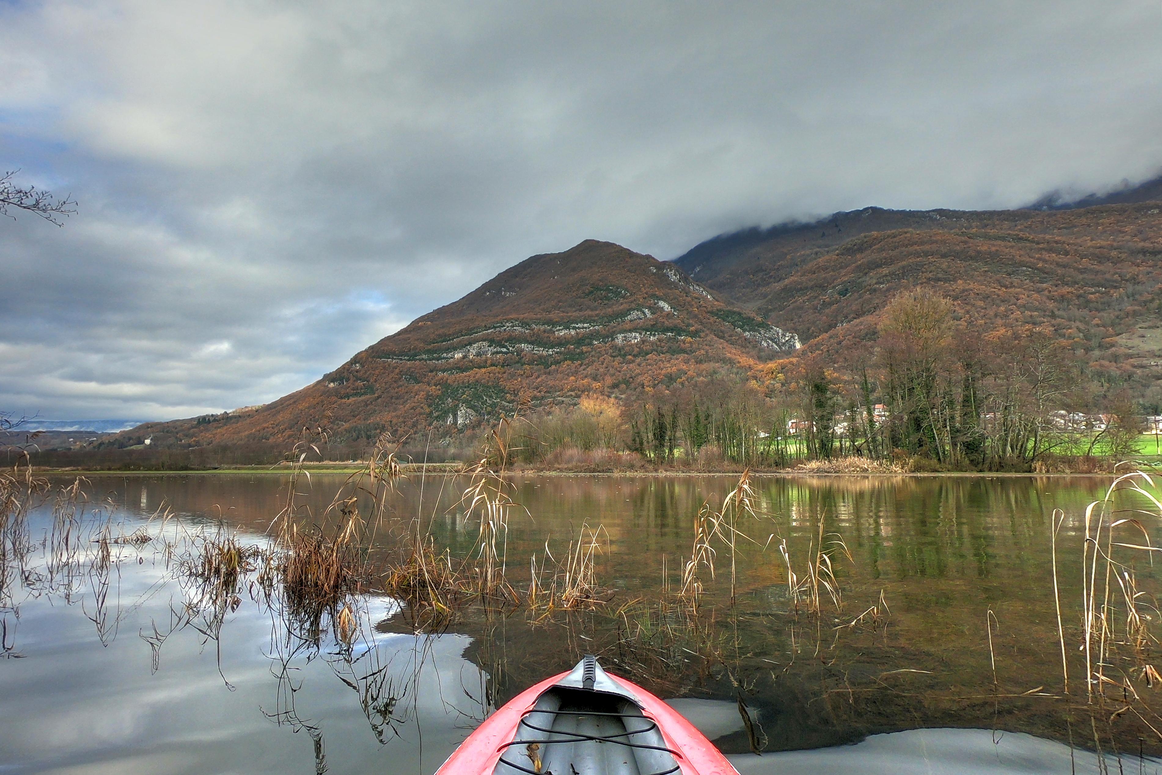 Le Séran et les Rousses en Kayak