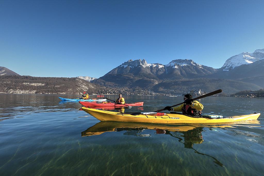 Photos: Le lac d'Annecy en hiver
