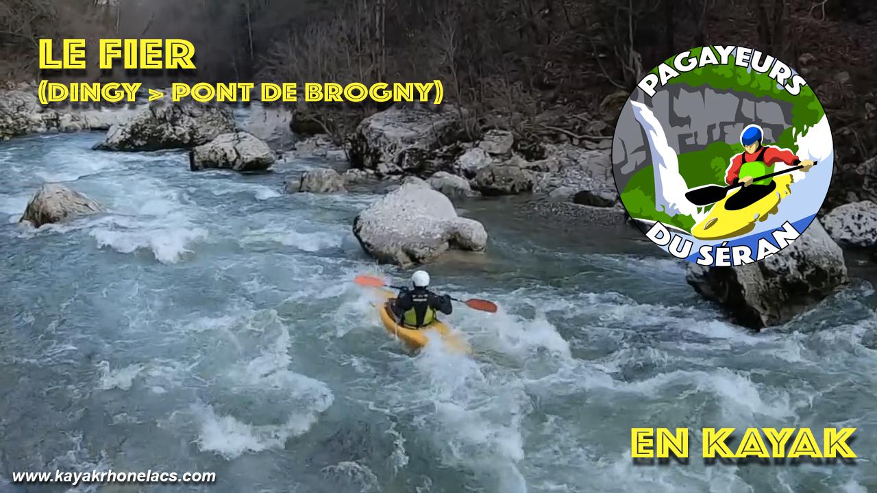 """[Vidéo]: """"Le Fier (Dingy > Pont de Brogny)"""""""