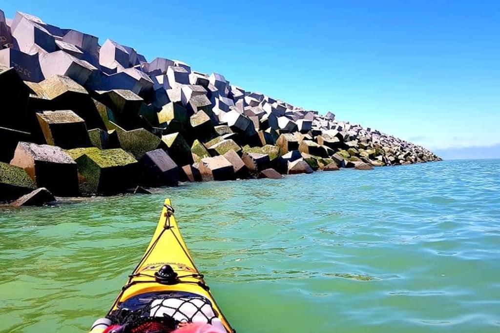 Tour de France Kayak / VTT: 2ème jour en mer